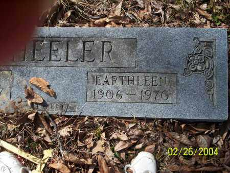 WHEELER, EARTHLEEN - Ouachita County, Arkansas | EARTHLEEN WHEELER - Arkansas Gravestone Photos