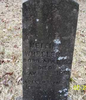 WHEELER, NETTIE - Ouachita County, Arkansas | NETTIE WHEELER - Arkansas Gravestone Photos