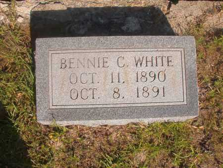 WHITE, BENNIE C - Ouachita County, Arkansas | BENNIE C WHITE - Arkansas Gravestone Photos
