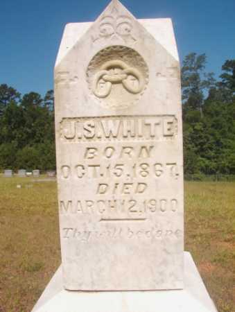 WHITE, J S - Ouachita County, Arkansas | J S WHITE - Arkansas Gravestone Photos