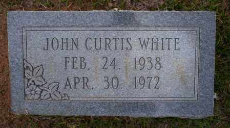 WHITE, JOHN CURTIS - Ouachita County, Arkansas | JOHN CURTIS WHITE - Arkansas Gravestone Photos