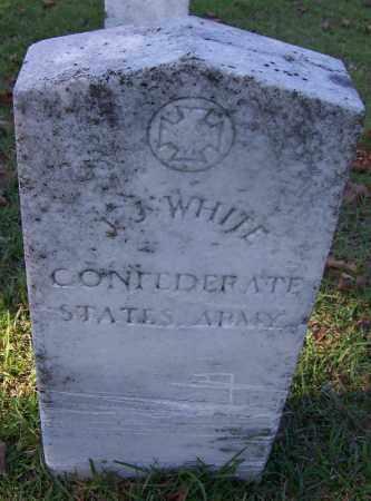 WHITE (VETERAN CSA), J J - Ouachita County, Arkansas   J J WHITE (VETERAN CSA) - Arkansas Gravestone Photos