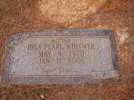 WHITMER, IOLA PEARL - Ouachita County, Arkansas | IOLA PEARL WHITMER - Arkansas Gravestone Photos