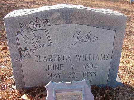 WILLIAMS, CLARENCE - Ouachita County, Arkansas | CLARENCE WILLIAMS - Arkansas Gravestone Photos