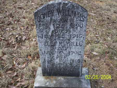 WILLIAMS, DELLA MAYBELL - Ouachita County, Arkansas | DELLA MAYBELL WILLIAMS - Arkansas Gravestone Photos