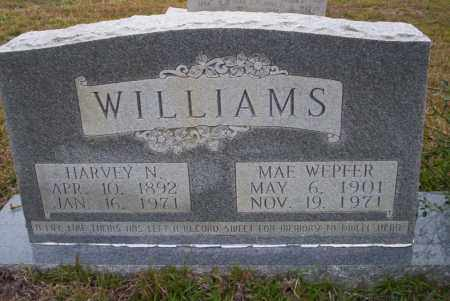 WILLIAMS, HARVEY N - Ouachita County, Arkansas | HARVEY N WILLIAMS - Arkansas Gravestone Photos