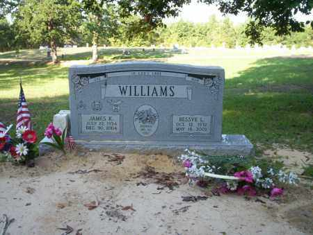 WILLIAMS, JAMES K - Ouachita County, Arkansas | JAMES K WILLIAMS - Arkansas Gravestone Photos