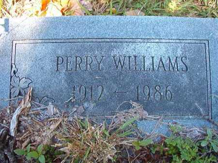 WILLIAMS, PERRY - Ouachita County, Arkansas | PERRY WILLIAMS - Arkansas Gravestone Photos
