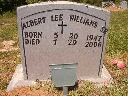 WILLIAMS, SR, ALBERT LEE - Ouachita County, Arkansas | ALBERT LEE WILLIAMS, SR - Arkansas Gravestone Photos