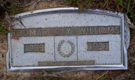 WILLIAMS, THOMAS RAY - Ouachita County, Arkansas | THOMAS RAY WILLIAMS - Arkansas Gravestone Photos