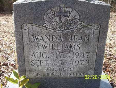 WILLIAMS, WANDA JEAN - Ouachita County, Arkansas | WANDA JEAN WILLIAMS - Arkansas Gravestone Photos
