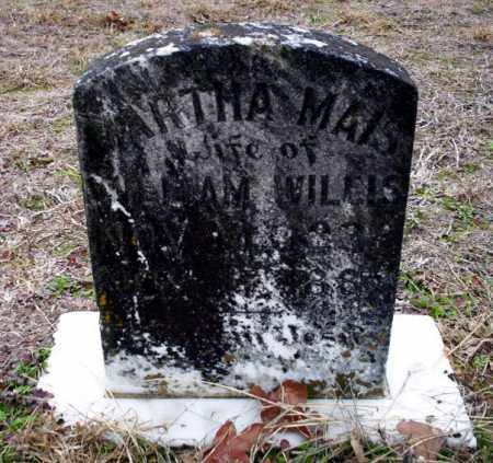 WILLIS, ARTHA MAIS - Ouachita County, Arkansas | ARTHA MAIS WILLIS - Arkansas Gravestone Photos