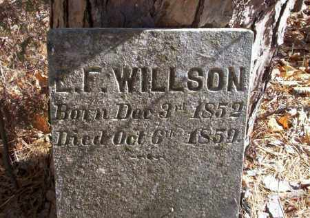 WILSON, E.L. - Ouachita County, Arkansas | E.L. WILSON - Arkansas Gravestone Photos