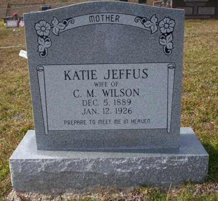WILSON, KATIE - Ouachita County, Arkansas | KATIE WILSON - Arkansas Gravestone Photos