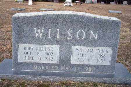 RUSHING WILSON, RUBY - Ouachita County, Arkansas | RUBY RUSHING WILSON - Arkansas Gravestone Photos