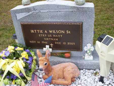 WILSON, SR   (VETERAN VIETNAM), IRTTIE A - Ouachita County, Arkansas | IRTTIE A WILSON, SR   (VETERAN VIETNAM) - Arkansas Gravestone Photos