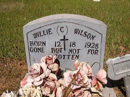 WILSON, WILLIE C - Ouachita County, Arkansas | WILLIE C WILSON - Arkansas Gravestone Photos