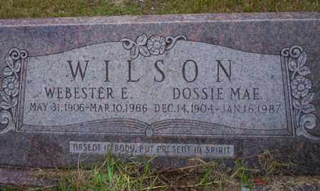 WILSON, DOSSIE MAE - Ouachita County, Arkansas | DOSSIE MAE WILSON - Arkansas Gravestone Photos
