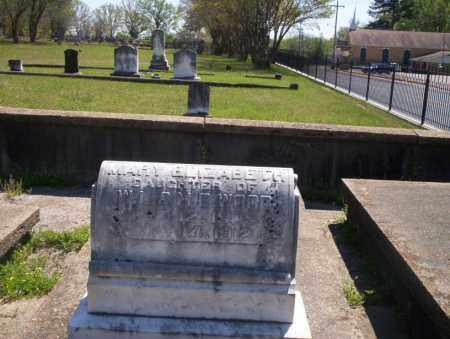 WOOD, MARY ELIZABETH - Ouachita County, Arkansas   MARY ELIZABETH WOOD - Arkansas Gravestone Photos