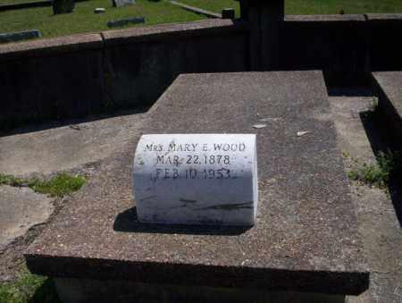WOOD, MARY E - Ouachita County, Arkansas | MARY E WOOD - Arkansas Gravestone Photos