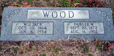 WOOD, PAIRLEE W - Ouachita County, Arkansas | PAIRLEE W WOOD - Arkansas Gravestone Photos