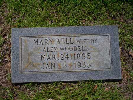BELL WOODELL, MARY - Ouachita County, Arkansas | MARY BELL WOODELL - Arkansas Gravestone Photos