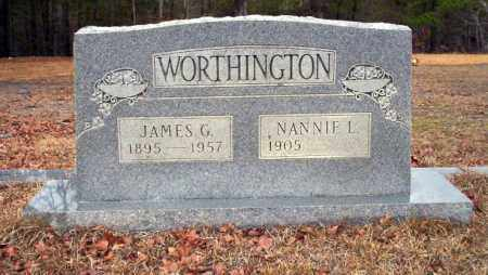 WORTHINGTON, NANNIE F - Ouachita County, Arkansas | NANNIE F WORTHINGTON - Arkansas Gravestone Photos