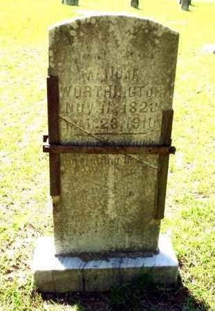 WORTHINGTON, MANOAH - Ouachita County, Arkansas | MANOAH WORTHINGTON - Arkansas Gravestone Photos