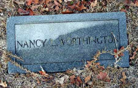 WORTHINGTON, NANCY - Ouachita County, Arkansas | NANCY WORTHINGTON - Arkansas Gravestone Photos