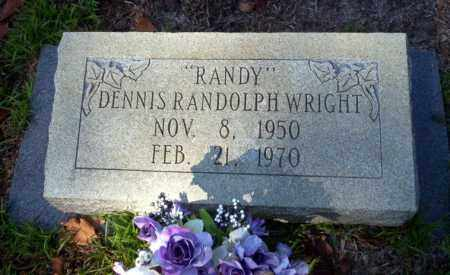 WRIGHT, DENNIS RANDOLPH - Ouachita County, Arkansas | DENNIS RANDOLPH WRIGHT - Arkansas Gravestone Photos