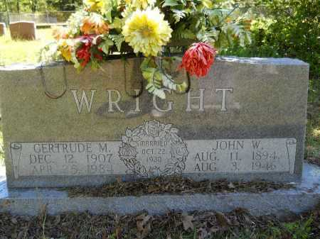 WRIGHT, GERTRUDE M - Ouachita County, Arkansas | GERTRUDE M WRIGHT - Arkansas Gravestone Photos