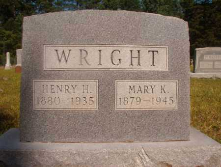 WRIGHT, HENRY H - Ouachita County, Arkansas | HENRY H WRIGHT - Arkansas Gravestone Photos