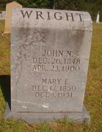 WRIGHT, MARY E - Ouachita County, Arkansas | MARY E WRIGHT - Arkansas Gravestone Photos