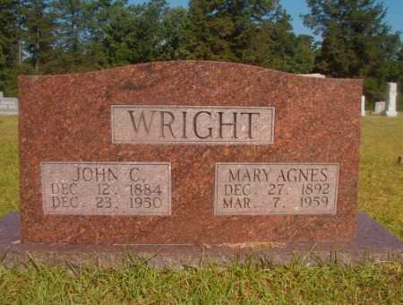 WRIGHT, JOHN C - Ouachita County, Arkansas | JOHN C WRIGHT - Arkansas Gravestone Photos