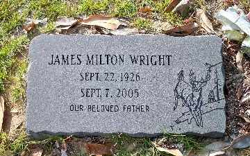 WRIGHT, JAMES MILTON - Ouachita County, Arkansas | JAMES MILTON WRIGHT - Arkansas Gravestone Photos