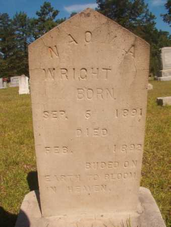 WRIGHT, NAOMA - Ouachita County, Arkansas | NAOMA WRIGHT - Arkansas Gravestone Photos