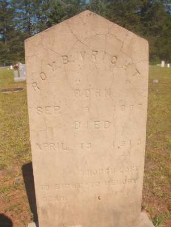 WRIGHT, ROY B - Ouachita County, Arkansas | ROY B WRIGHT - Arkansas Gravestone Photos
