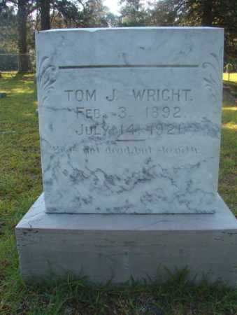 WRIGHT, TOM J - Ouachita County, Arkansas | TOM J WRIGHT - Arkansas Gravestone Photos