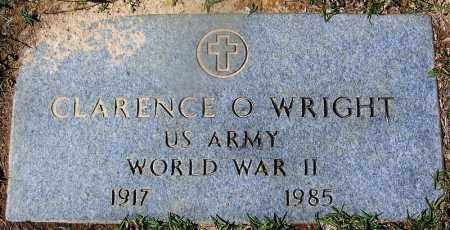 WRIGHT (VETERAN WWII), CLARENCE O - Ouachita County, Arkansas | CLARENCE O WRIGHT (VETERAN WWII) - Arkansas Gravestone Photos