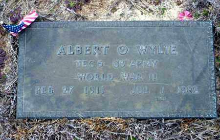 WYLIE  (VETERAN WWII), ALBERT O - Ouachita County, Arkansas | ALBERT O WYLIE  (VETERAN WWII) - Arkansas Gravestone Photos