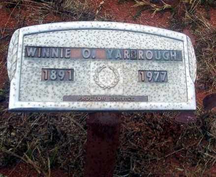 YARBROUGH, WINNIE O - Ouachita County, Arkansas | WINNIE O YARBROUGH - Arkansas Gravestone Photos