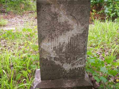 YEAGER, CARRIE - Ouachita County, Arkansas | CARRIE YEAGER - Arkansas Gravestone Photos