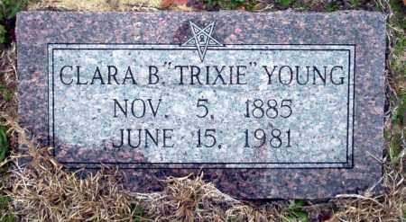 "YOUNG, CLAR B ""TRIXIE"" - Ouachita County, Arkansas 