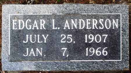 ANDERSON, EDGAR L - Perry County, Arkansas | EDGAR L ANDERSON - Arkansas Gravestone Photos