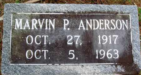 ANDERSON, MARVIN P - Perry County, Arkansas | MARVIN P ANDERSON - Arkansas Gravestone Photos