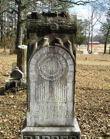 BARBER, J. M. - Perry County, Arkansas | J. M. BARBER - Arkansas Gravestone Photos