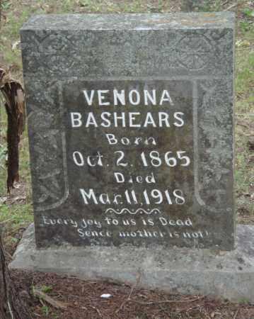 BASHEARS, VENONA - Perry County, Arkansas | VENONA BASHEARS - Arkansas Gravestone Photos