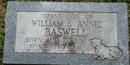 BASWELL, INFANT SON - Perry County, Arkansas | INFANT SON BASWELL - Arkansas Gravestone Photos