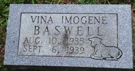 BASWELL, VINA IMOGENE - Perry County, Arkansas | VINA IMOGENE BASWELL - Arkansas Gravestone Photos