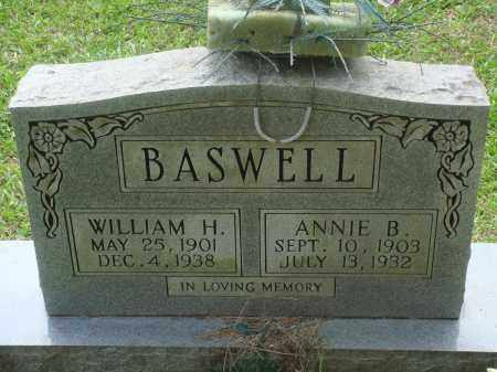 BASWELL, WILLIAM H - Perry County, Arkansas | WILLIAM H BASWELL - Arkansas Gravestone Photos
